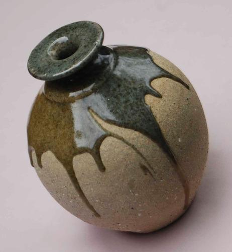 vaso cerâmica artística peça única