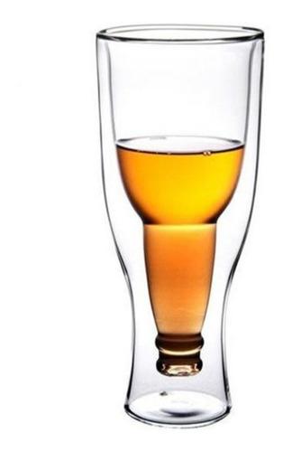 vaso cerveza invertido diseño original regalo bebidas