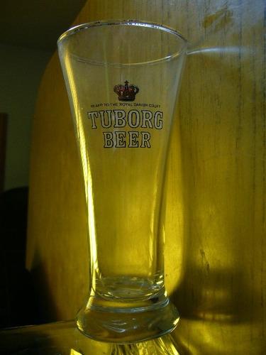 vaso cerveza tuborg beer