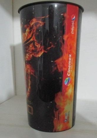 vaso cine coleccionable juegos del hambre sinsajo 01 cinemex