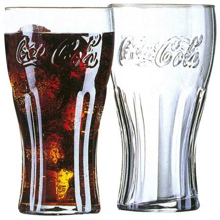 vaso coca cola vidrio vasos copa retro vintage original duro