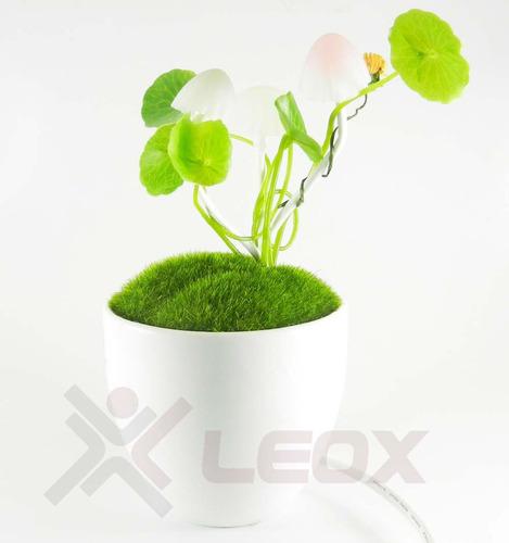 vaso cogumelo avatar led