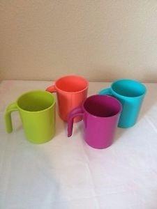 vaso colores tupperware