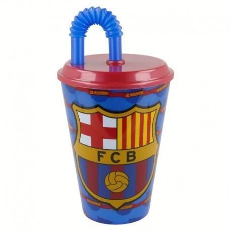 Vaso Con Popote De 430 Ml Futbol Fc Barcelona Fcb -   59.00 en ... 598a79a9db9