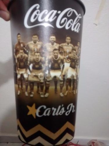 vaso conmemorativo coca cola carls jr