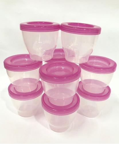 vaso conservador de leche almacenar x10 infantesa lloretoys