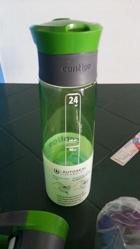 vaso contigo de hidratación autoseal