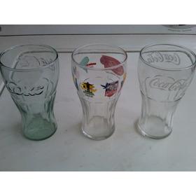 Vaso Copa De Vidrio Coleccionables Coca-cola