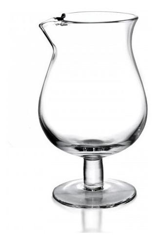 vaso copa refrescar mezclador con pie con pico bartender bar