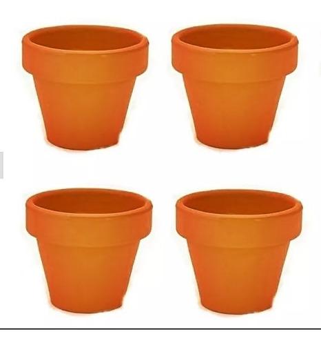 vaso de barro pequeno 5 x 5 cm 12 lembrancinha casamento