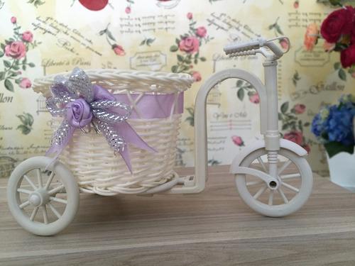vaso de bicicleta para decoração