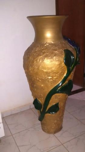 vaso de ceramica pintado