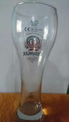 vaso de cerveza erdinger de colección 0.50l