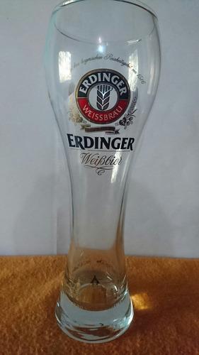 vaso de cerveza erdinger de colección