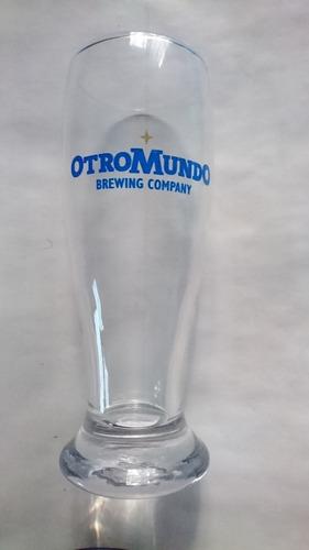 vaso de cerveza otro mundo