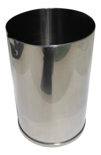 vaso de composición coctelería de acero inoxidable - 1400cc