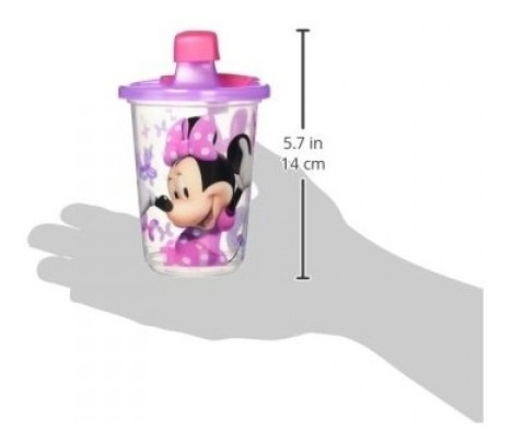 vaso de entrenamiento-antiderrame set de 3/ minnie