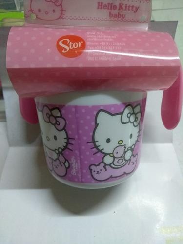 vaso de entrenamiento de hello kitty importado 250 ml