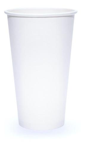 vaso de papel blanco 32 oz con 500 piezas
