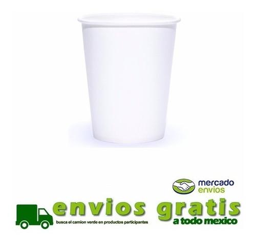 vaso de papel para cafe 8 oz con 1000 piezas