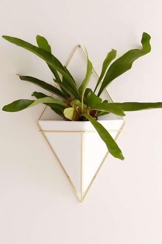 vaso de parede trigg grande decorativo - umbra