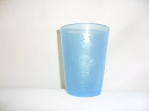 vaso de plástico 250 mls lote 1500 piezas varios colores