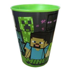 Vaso De Plástico De Minecraft  De 260 Ml
