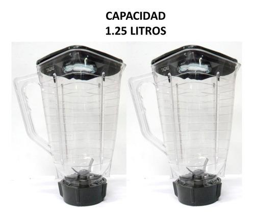 vaso de plástico para licuadora oster 2 piezas incluye envío
