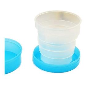 Vaso De Plástico Plegable Para Bolso Viaje Camping Escuela