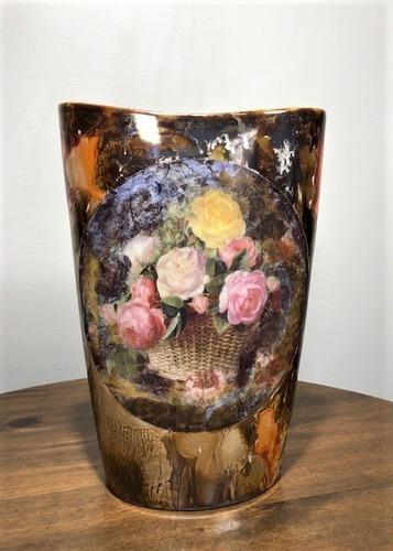 vaso de porcelana rústico - 30cm