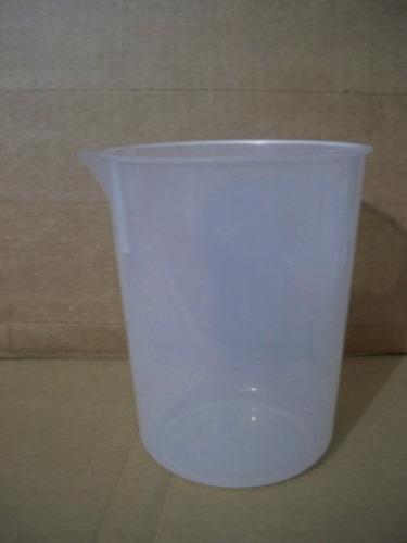 vaso de precipitado de plastico capacidad 1000 ml
