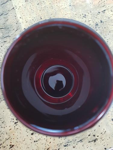 vaso de precipitados pyrex rojo rubí raro 400 ml