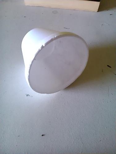 vaso de sopa espuma de poliestireno