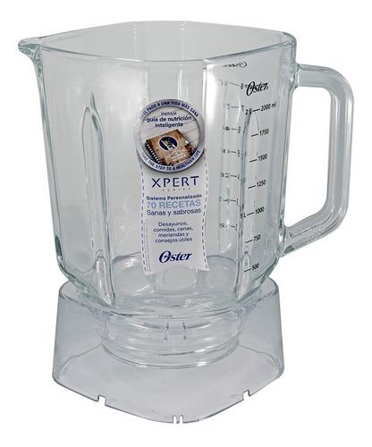 vaso de vidrio boroclass de 2 litros xpert