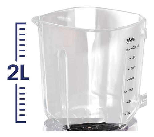 vaso de vidrio licuadora oster xpert