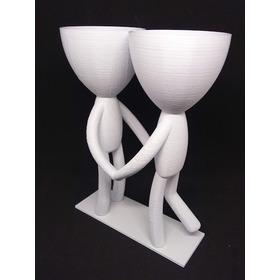 Vaso Decorativo Love Robert Planta - Apaixonados - 17cm