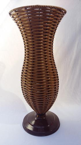 vaso em junco 55cm decoração arranjo enfeite festa casamento