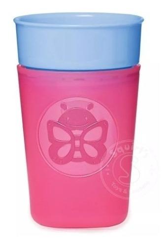 vaso entrenado con tapa de seguridad -niña