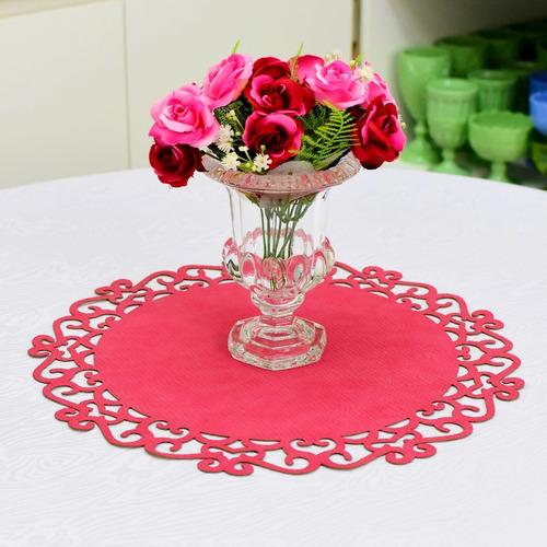vaso flores grego vidro cristal festa casamento 15cm a10774