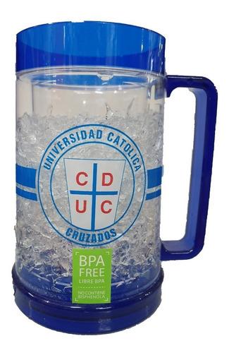 vaso frozen universidad catolica en caja
