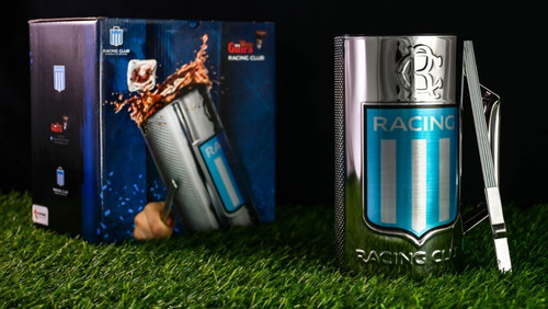 vaso guiro racing club oficial guira vaso 3/4 de litro