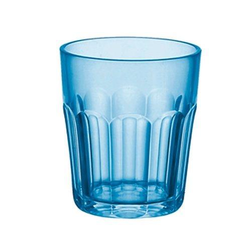 vaso happy hour color azul claro de guzzini