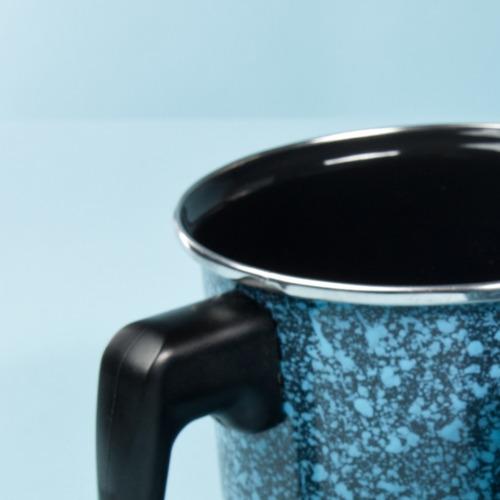 vaso hervidor 14 cm de 2 litros con tapa, granito cinsa
