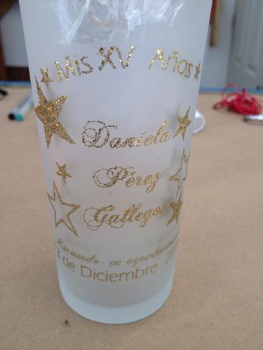 vaso impreso en serigrafia personalizado