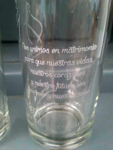 vaso impreso personalizado 10$