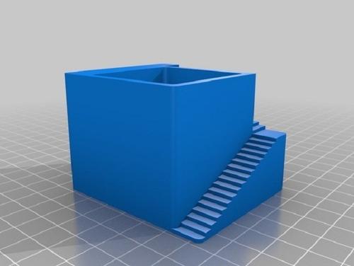 vaso impresso em 3d para suculentas e mini cactos + frete