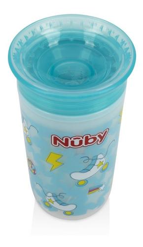 vaso infantil antiderrame 360 con luces nuby 10 oz