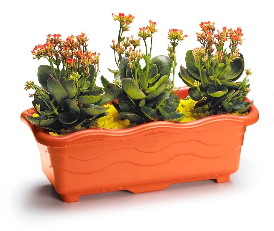 Vaso jardineira p plantas plastico coloridos 80 cm - Plantas de plastico ikea ...