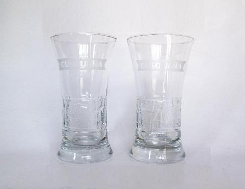 vaso kerito cusqueña pack de 12 labrado de coleccion 255ml
