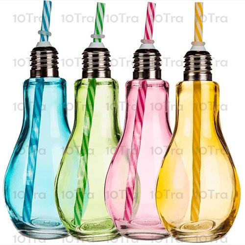 vaso lampara trago luminoso led fiestas cotillon deco
